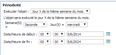 SAP BusinessObjects Webi - Planifier un document 13
