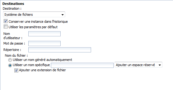 SAP BusinessObjects Webi - Planifier un document 20