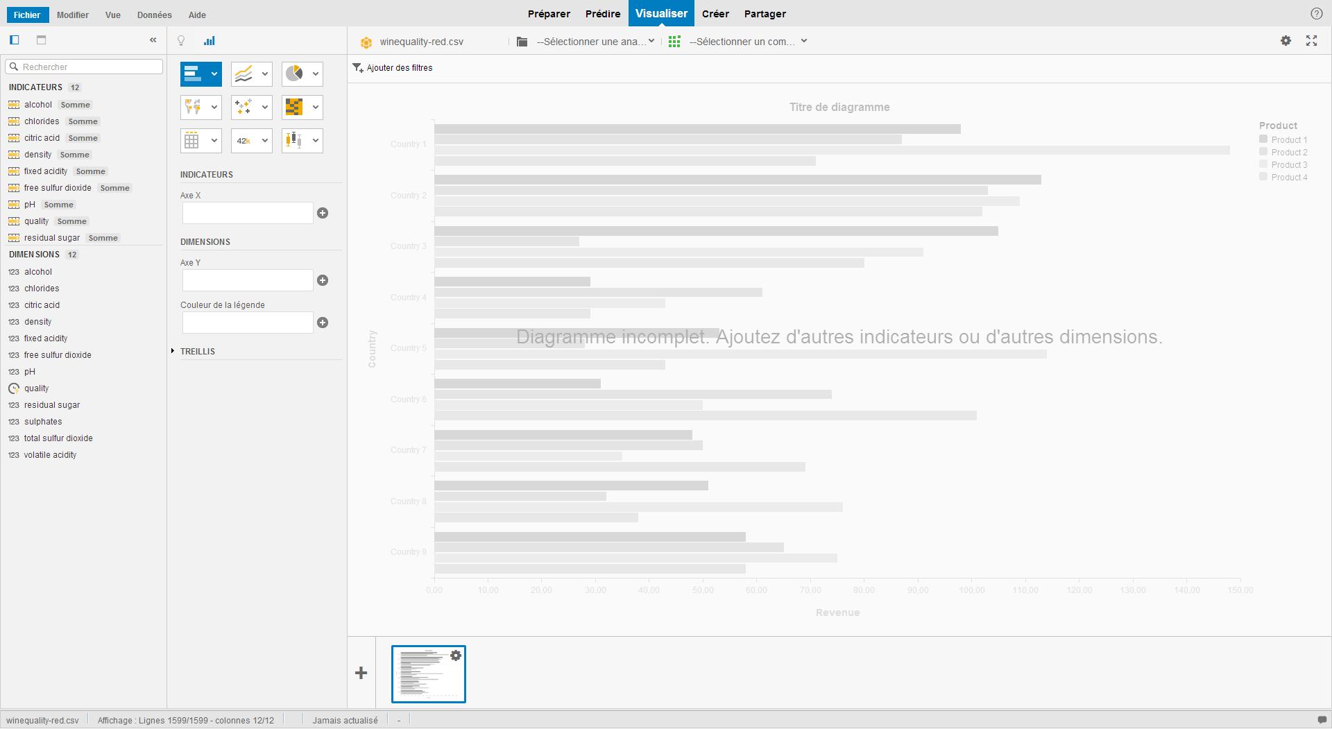 SAP Predictive Analysis - Intégrer un fichier CSV 6
