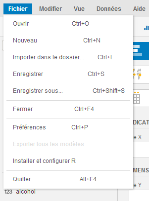SAP Predictive Analysis - Intégrer un fichier CSV 7